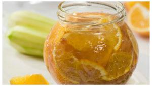Кабачковое варенье с мандаринами и лимонами