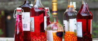 Настойка из замороженных ягод в домашних условиях - простой рецепт.